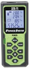 PowerSmith 325ft Laser Measure Tool Weather-Proof Calculate Area/Vol. Sae/Metric