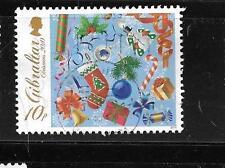 GIBRALTAR SCOTT'S #1253 2010 CHRISTMAS 10p POSTALLY USED COMMEMORATIVE STAMP