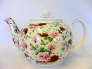 Summertime chintz design 2 cup teapot by The Abbeydale collection.