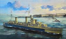 1/700 HMS AURORA 1945 plus BONUS Detail Sets * Flyhawk FH1127