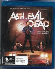 Ash Vs Evil Dead : Season 1 (Blu-ray, 2016, 3-Disc Set)New Region B Free Post