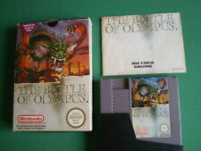 Nintendo NES THE BATTLE OF OLYMPUS Complet PAL B FAH / FRA