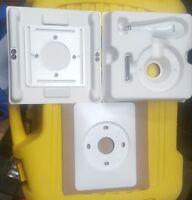 Nest 3rd Gen.Thermostat J Box Metal Plate, Wall Trim Plate w/Screws