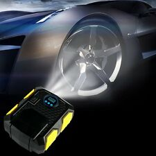 Portable Digital Tire Inflator DC 12V Car Electric Air Compressor Pump Powerful