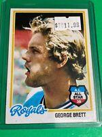 🔥 1978 TOPPS Baseball Card Set #100 🔥 KANSAS CITY ROYALS 🔥 GEORGE BRETT