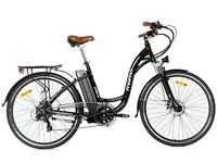 "Bicicleta Eléctrica Paseo SHIMANO RUEDA 28"" ALUMINIO Batería ION-LITIO 36V 16Ah"