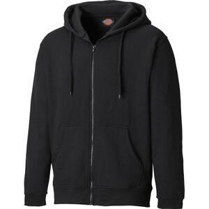 Dickies Redwood Zipped Work Sweatshirt Hoodie SH11500 BLACK