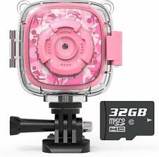 Kids Action Camera Waterproof Video Digital Children Cam 1080P HD Sports Camera