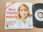 "DISQUE 45T DE BARRY MANILOW "" MANDY """