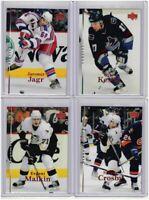 2007-08 Upper Deck Hockey Complete Series 1 Set 1-200 (NO YOUNG GUNS)