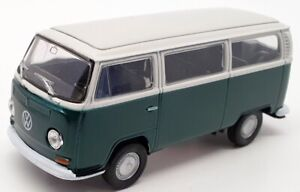 Welly 1/34 Scale 42347 - 1973 Volkswagen Type 2 Bus - Green/White