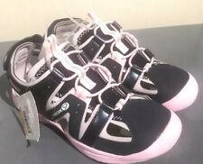 Geox Vaniett Girl Sandals Navy/Pink 33 EU Little Kid (US 2) NEW $65