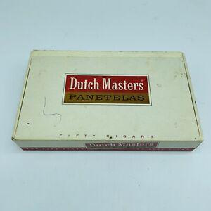 Dutch Masters Panetelas Empty Cigar Box