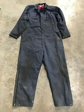 """Mens Boilersuit Overalls Dickies Red Lined Blue 48"""" Waist, 29"""" Leg, 52"""" Chest"""