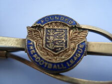 C1960S VINTAGE THE FOOTBALL LEAGUE FOUNDED 1888 ENAMEL TIE CLIP
