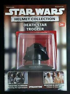 "Star Wars Helmet ""Death Star Trooper"" Issue 34 ""Deagostini"" Collection"