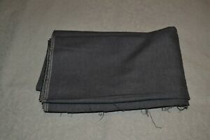 """Cotton fabric 51"""" x 1.75 yards, suiting apparel, brown with stretch"""