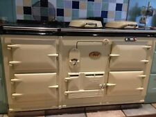 RECONDITIONED CLASSIC AGA 4 OVEN 13 AMP ELECTRIC IN CREAM FREE DELIVERY & PLINTH