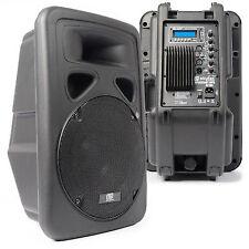 "Skytec 170.318 12"" Active Powered Bluetooth Audio DJ Speaker 600 Watt"