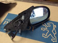 Peugeot 406 mk1 2 Saloon estate electric folding Wing Mirror right SIDE 8149Z3