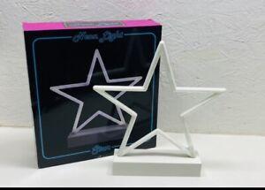 NEON LIGHT STAR LED LAMP LIGHT ART DECOR BAR HOME SHOP PARTY DECOR NOVELTY GIFT