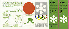Olympic Winter Games Sapporo 1972. Ticket Icehockey