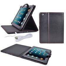 Digital Treasures Props Leatherette Folio Case, 12000mAh Power Bank for iPad 2-4