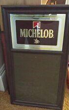 Vintage Michelob mirrored sign
