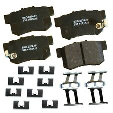 Disc Brake Pad Set-Stop Ceramic Brake Pad Rear Bendix SBC536