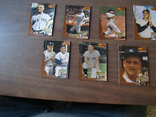 NM/MT 1994 TWCC ROGER MARIS ETCHED IN STONE 7 CARD LOT
