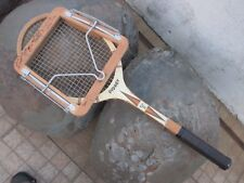 Vintage Dunlop Sydney Tennis Racquet Racket With Same Old Signatures in Clamp