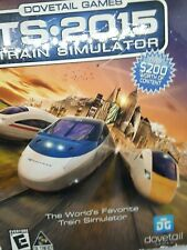 Dovetail Games Train Simulator TS - 2015 PC Video Game Sealed Tri Synergy