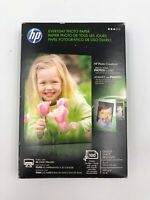HP EVERYDAY PHOTO PAPER 100 GLOSSY SHEETS NEW SEALED 4x6 - Inkjet Printer