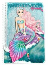 Fantasy Model Mermaid  by Depesche Stickers Book For Girls +5