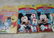 Disney Junior Numbers/Color Cards - Winnie the Pooh Number Match Cards Lot of 3
