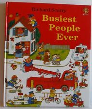Busiest People Ever by Richard Scarry HB VGC 2001 fun Vintage children's book