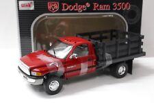 1:18 Anson Dodge Ram 3500 Stake Truck Pick-Up red NEW bei PREMIUM-MODELCARS