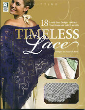Timeless Lace 18 Designs Shawls Pineapple Lap Throw Table Runners KNITTING BOOK
