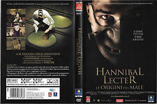 HANNIBAL LECTER - LE ORIGINI DEL MALE (2007) dvd ex noleggio