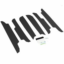 2019-20 Fits Toyota RAV4 6pc Door Threshold Step Shield Pads Scratch Guard Cover