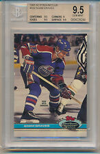 1991 Stadium Club Hockey Adam Graves (#332) BGS9.5 BGS
