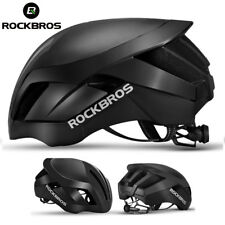 ROCKBROS MTB Road Bike Cycling 57cm-62cm EPS Integrally Helmet Black  3 in 1