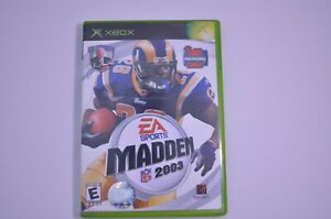 Madden 2003 EA Sports (Microsoft Xbox, 2003) Complete - TESTED