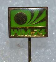 Germany 1974 FIFA Football World Cup WM 74 Fussball Anstecknadel Logo pin badge