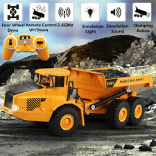 2.4Ghz RC Remote Control Electric Engineering Dump Truck Toy Model Kids Boy Gift