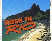 ROCK IN RIO Import 2 CD Set 1991 Santana Cocker Idol INXS Guns 'N Roses J Priest