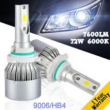 2pcs 2018 Cree COB LED Headlight Kit 9006 HB4 9012 Car LED Bulbs 6000K Fog Bulbs