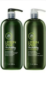 Paul Mitchell Tea Tree Lemon Sage Thickening Duo Care * Authentic & Brand New*