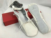 Capezio Adult Daisy Full Sole 205 White Ballet Shoes, Womens 9.5M, New