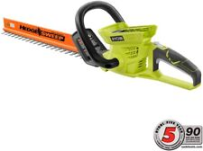 Ryobi Cordless Hedge Trimmer 40-Volt Lithium-Ion Dual-Blade Antivibration Handle